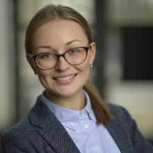 This picture showsYaryna Svyryda