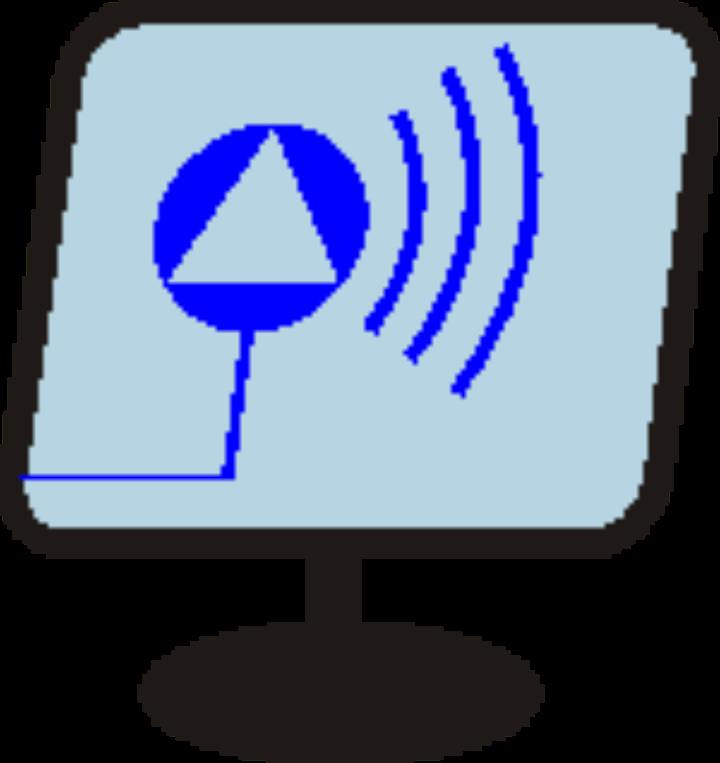 Symbolbild: Computerbildschirm mit dem IST-Logo